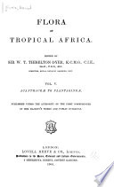 Flora of Tropical Africa