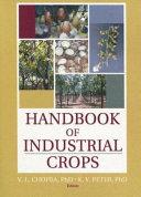 Handbook of Industrial Crops