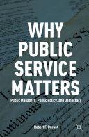 Pdf Why Public Service Matters Telecharger
