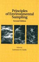 Principles of Environmental Sampling Book