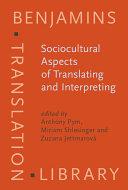 Pdf Sociocultural Aspects of Translating and Interpreting