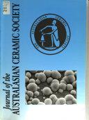 Journal of the Australasian Ceramic Society Book