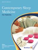 Contemporary Sleep Medicine For Patients Book PDF