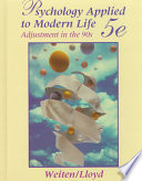 Psychology Applied to Modern Life adjustment in the 90s