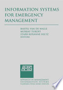Information Systems for Emergency Management