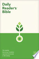 NLT Daily Reader s Bible  Softcover