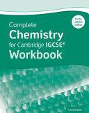 Complete Chemistry for Cambridge IGCSE® Workbook