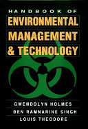 Handbook of Environmental Management and Technology Book