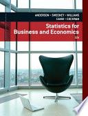 """Statistics for Business & Economics"" by David R. Anderson, Dennis J. Sweeney, Thomas A. Williams, Jeffrey D. Camm, James J. Cochran"