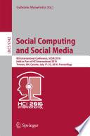 Social Computing and Social Media Book
