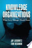 Knowledge Organizations