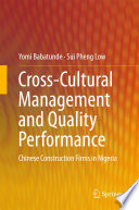 Cross Cultural Management And Quality Performance