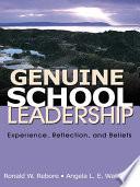 Genuine School Leadership
