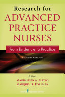Research for Advanced Practice Nurses, Second Edition