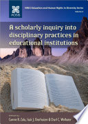 A scholarly inquiry into disciplinary practices in educational institutions