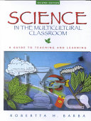 Science In The Multicultural Classroom