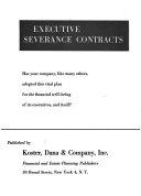 Executive Severance Contracts