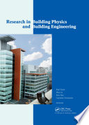 Research in Building Physics and Building Engineering Book