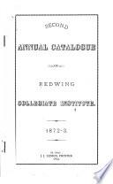 Annual Catalogue of Red Wing Collegiate Institute