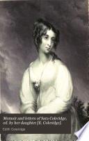Memoir and letters of Sara Coleridge  ed  by her daughter  E  Coleridge