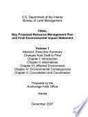 Bay Resource Management Plan