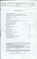 Official Gazette of the United States Patent Office: Patents