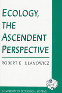 Ecology  the Ascendent Perspective Book