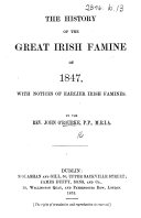 The History of the Great Irish Famine of 1847