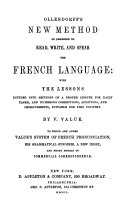 New Method of Learning to Read     the French Language