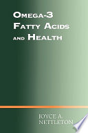Omega 3 Fatty Acids And Health Book PDF