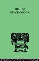 Hindu Psychology