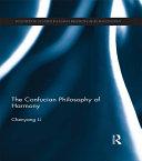 The Confucian Philosophy of Harmony