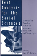 Text Analysis for the Social Sciences
