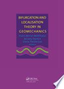 Bifurcation and Localisation Theory in Geomechanics