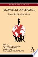 Knowledge Governance