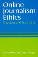 Online Journalism Ethics