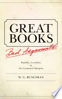 Great Books  Bad Arguments