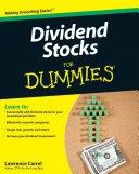 Dividend Stocks For Dummies Pdf/ePub eBook