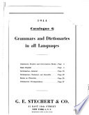 Grammars and Dictionaries in All Languages