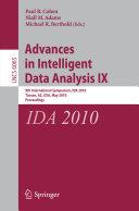 Advances in Intelligent Data Analysis IX
