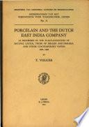 Porcelain and the Dutch East India Company
