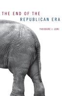 Pdf The End of the Republican Era