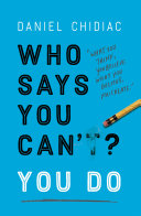 Who Says You Can't? You Do Pdf/ePub eBook