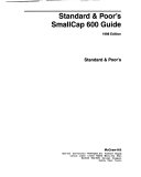 Standard & Poor's Smallcap 600 Guide