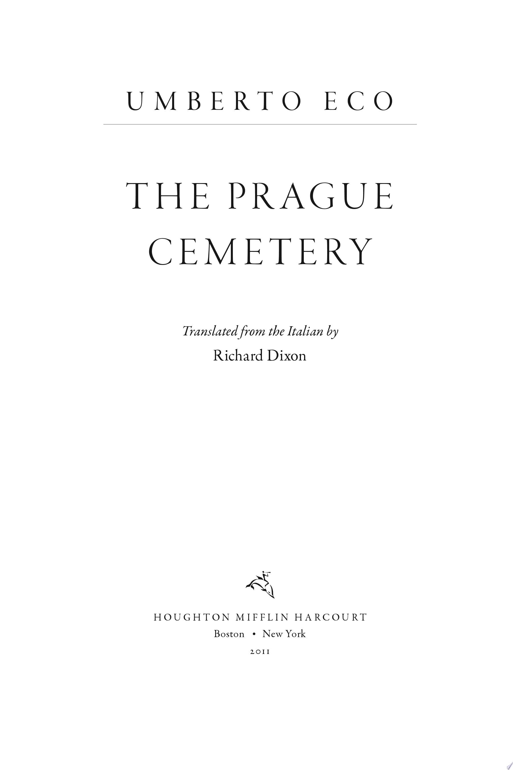The Prague Cemetery
