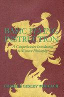 Basic Flying Instruction