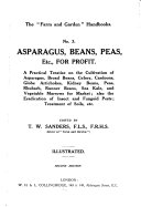 Asparagus, Beans, Peas, Etc. for Profit