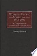 Women In Global Migration 1945 2000