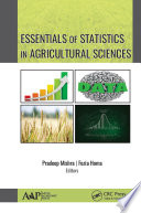 Essentials of Statistics In Agricultural Sciences Book