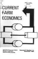 Current Farm Economics Book